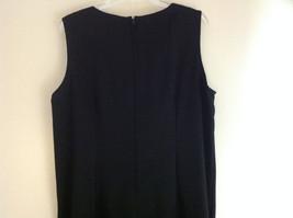 BFA Classics Sleeveless Black Full Length Dress Zipper at Back of Neck Size 18W image 4