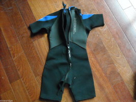 2 EXCEL Youth Wetsuits with 2 MTI Youth Life Vests image 3