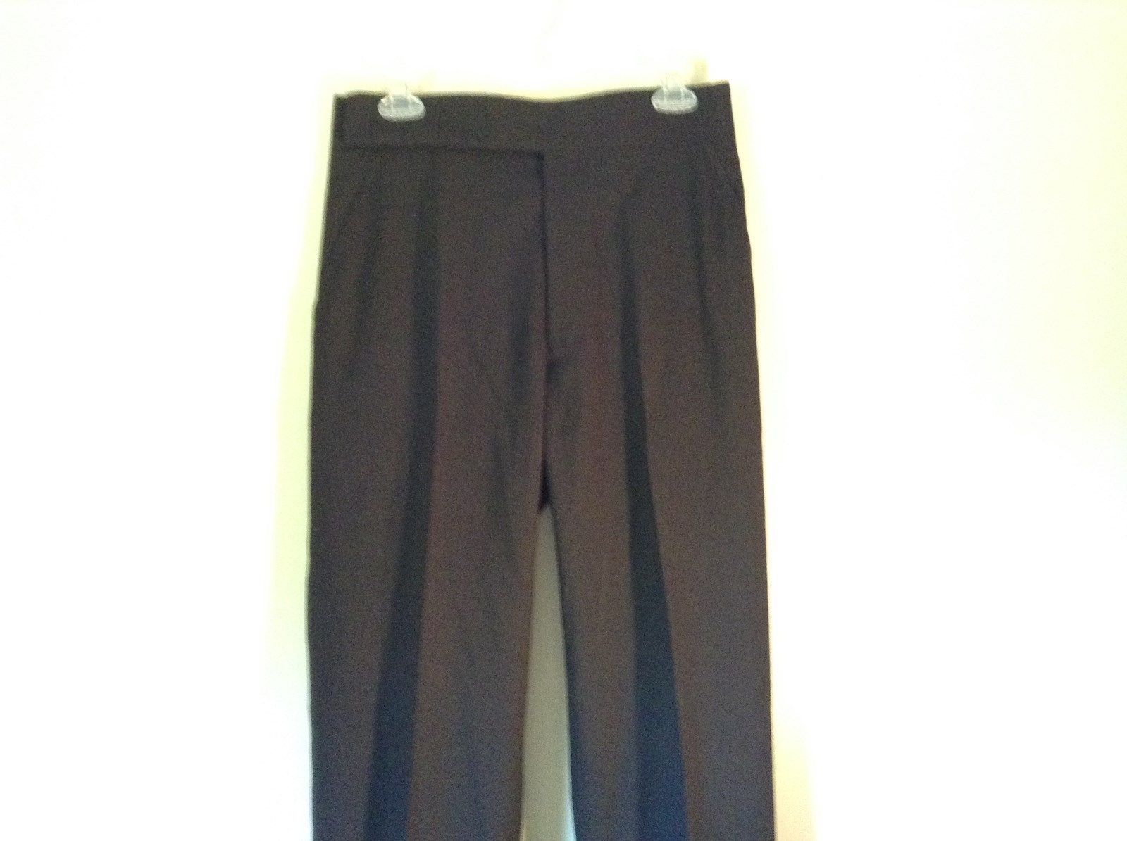 Black Dress Pants No Tags Excellent Condition Measurements Below