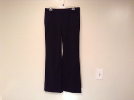 Black Dress Pants by GAP Original Size 4 Long Stretch Flare Two Front Pockets
