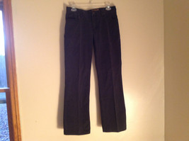 Black Five Pocket Boot Cut Jeans Eddie Bauer Made in Thailand Size 6P image 1
