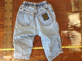 Baby Gap Infant Snap Legs Blue Jeans with Elastic Waist Size 9 to 12 Months image 4