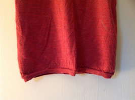 Banana Republic Red Orange Crew Neck Sweater Vest Stretchy Material Size Large image 5