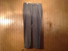 Black Gray Houndstooth H and M Dress Pants Side Pockets 1 Back Pocket Size 6