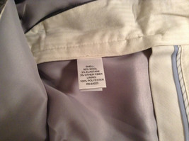 Banana Republic Size 4 Fully Lined Gray Dress Pants Very Nice Pleated Front image 6