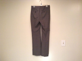 Banana Republic Size 4 Fully Lined Gray Dress Pants Very Nice Pleated Front image 3