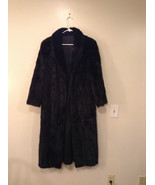 Black Mink Fur Coat Fur in Good Condition Size 14 Rebecca Chase - $3,500.00