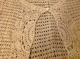 Bandolino brown short sleeve vest size large image 6