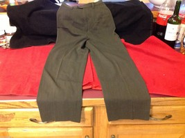 Banana Republic Small pair size 2 Olive pants wool rayon made in Italy image 5