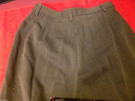 Banana Republic Small pair size 2 Olive pants wool rayon made in Italy image 7