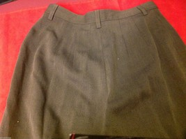 Banana Republic Small pair size 2 Olive pants wool rayon made in Italy image 6