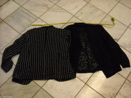 2 Women's Black Jackets by Chico's image 2