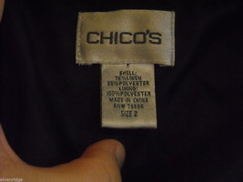 2 Women's Black Jackets by Chico's image 7