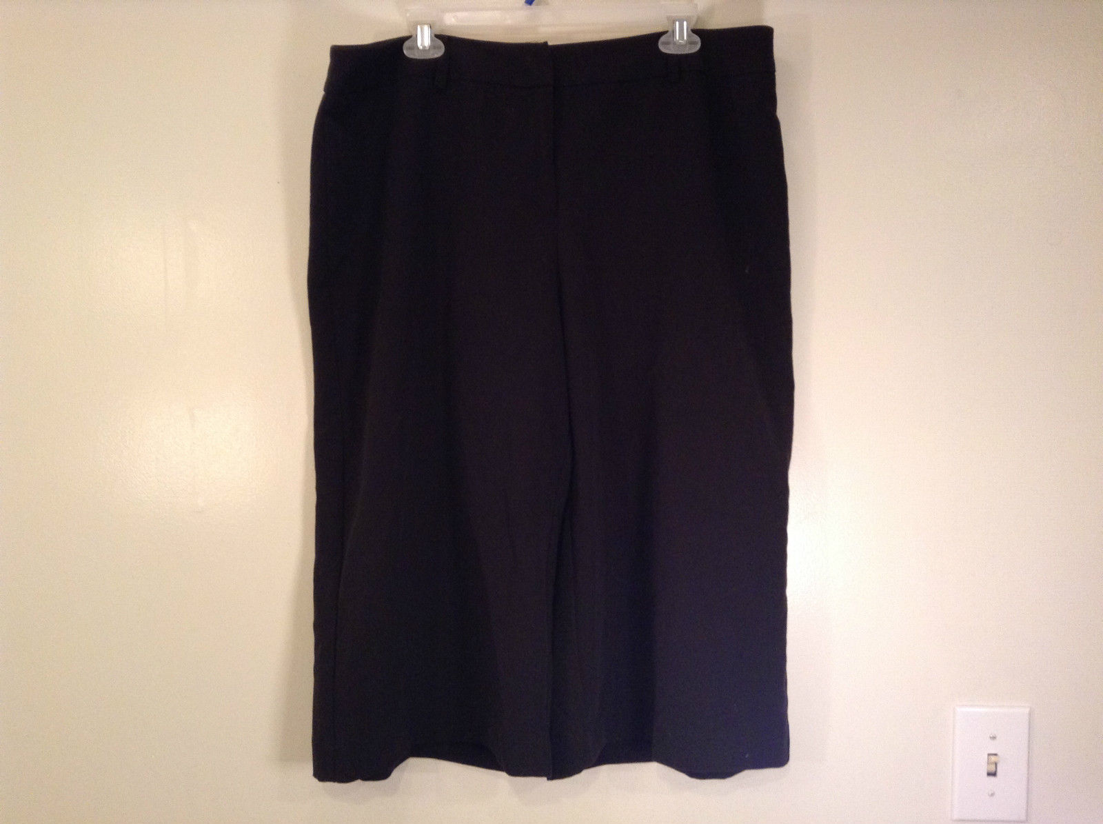 Black Size 18 East 5th Capri Pants
