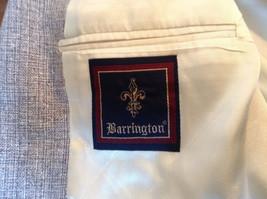 Barrington Gray Wool Suit Jacket with 100 Percent Silk Lining Measurements Below image 6