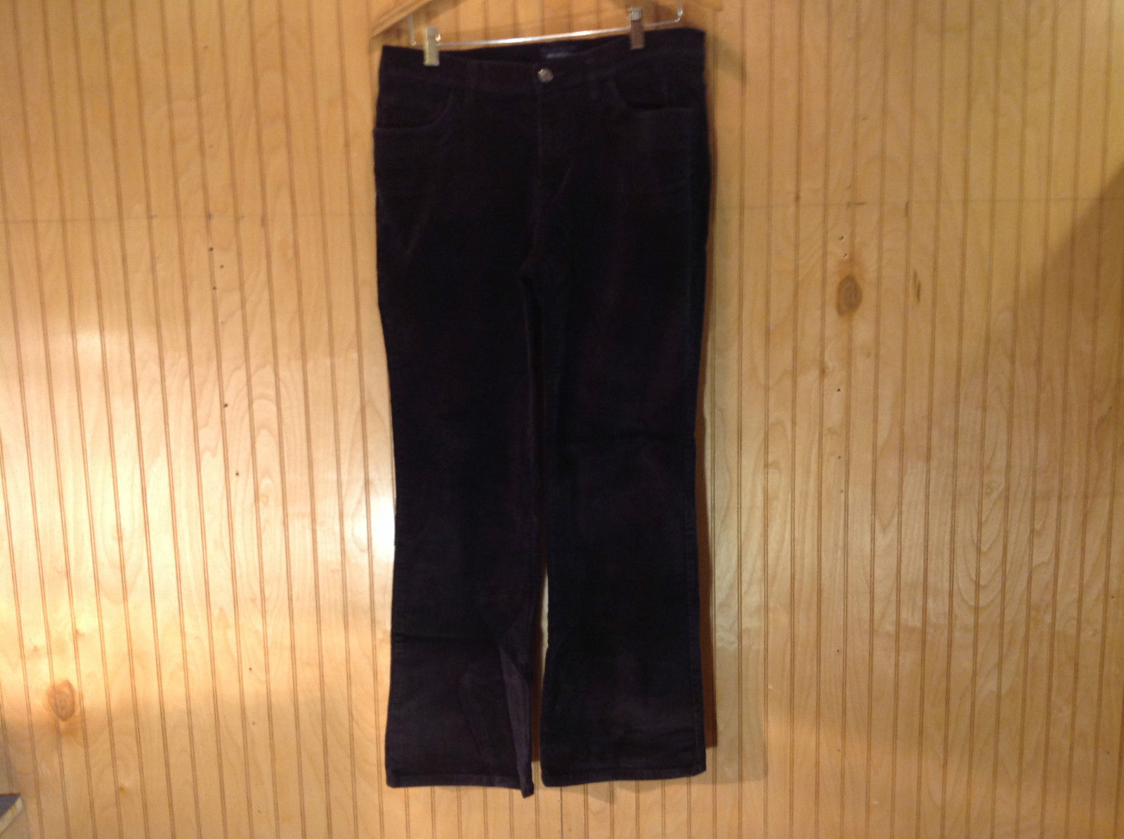 Black Sonoma Life and Style Casual Pants Button and Zipper Closure Size 12