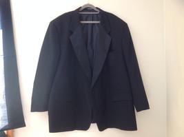 Black Suit Jacket by Vit Tario Vasari Single Button Inside Pockets Size 52R
