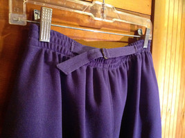 2 PC Blue Violet Open Vest Skirt Set Graff Californiawear Vest SZ  L Skirt SZ M image 9