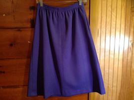 2 PC Blue Violet Open Vest Skirt Set Graff Californiawear Vest SZ  L Skirt SZ M image 10