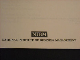 2 Management Books National Institute of Management image 5