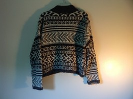 Best Authentic True Mark Innovative Brown Graphic Long Sleeve Sweater Size L image 6