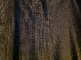 Black Checker Fabric Pattern Casual Pants 4 Pockets Antonio Melani Size 8 image 3