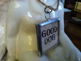 """2 Sided Charm - """"Good Dog"""" and """"Bad Dog"""" image 2"""