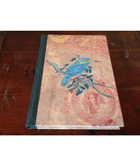 Blank Paged Handcrafted Asian Look  Journal with Blue Bird on Cover - $14.84