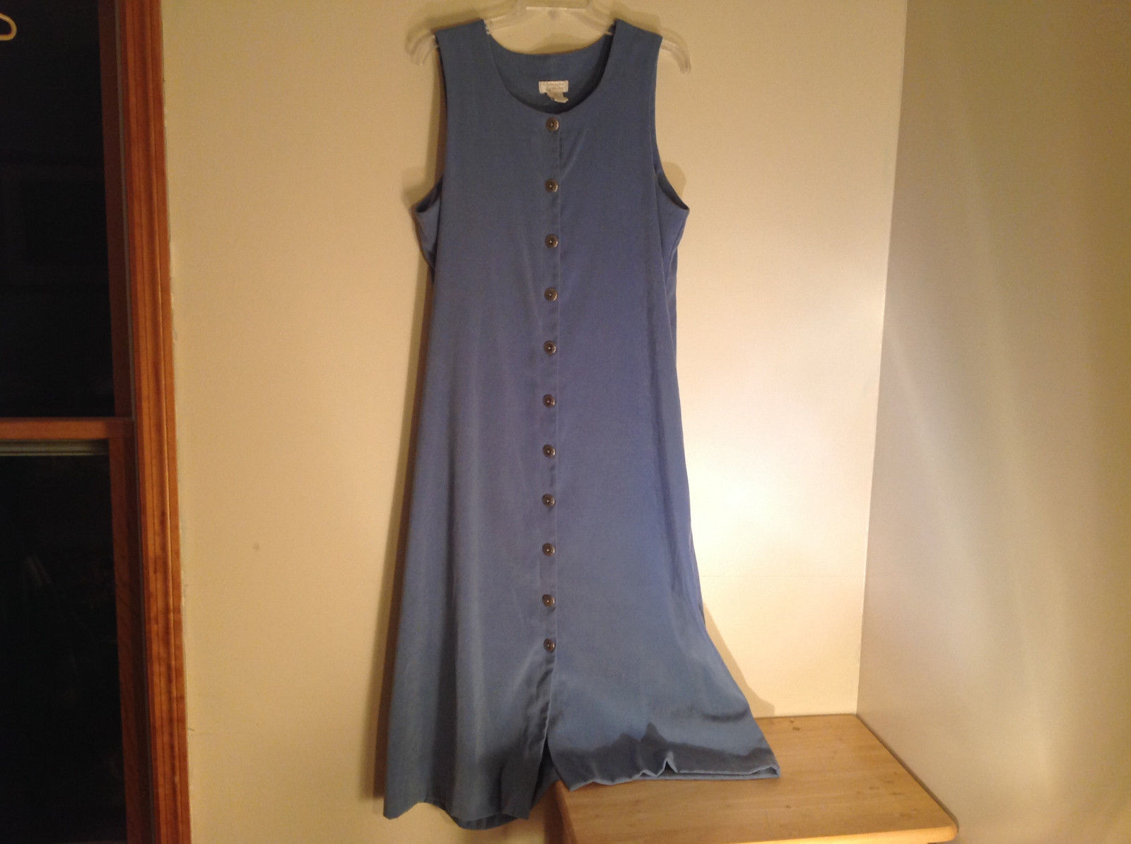 Blue Christopher and Banks  Sleeveless Dress Made in Indonesia Size 12