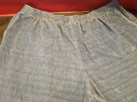 Blue Corduroy Alfred Dunner Ladies Pants Size 22W