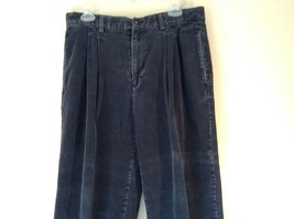 Blue Corduroy GAP Easy Fit Pants Size 34 by 30 Great Condition image 1