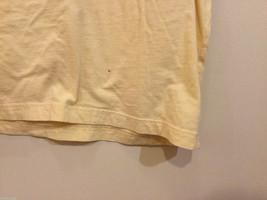 Bill Blass Light Yellow 100% cotton T-Shirt, Size M image 4