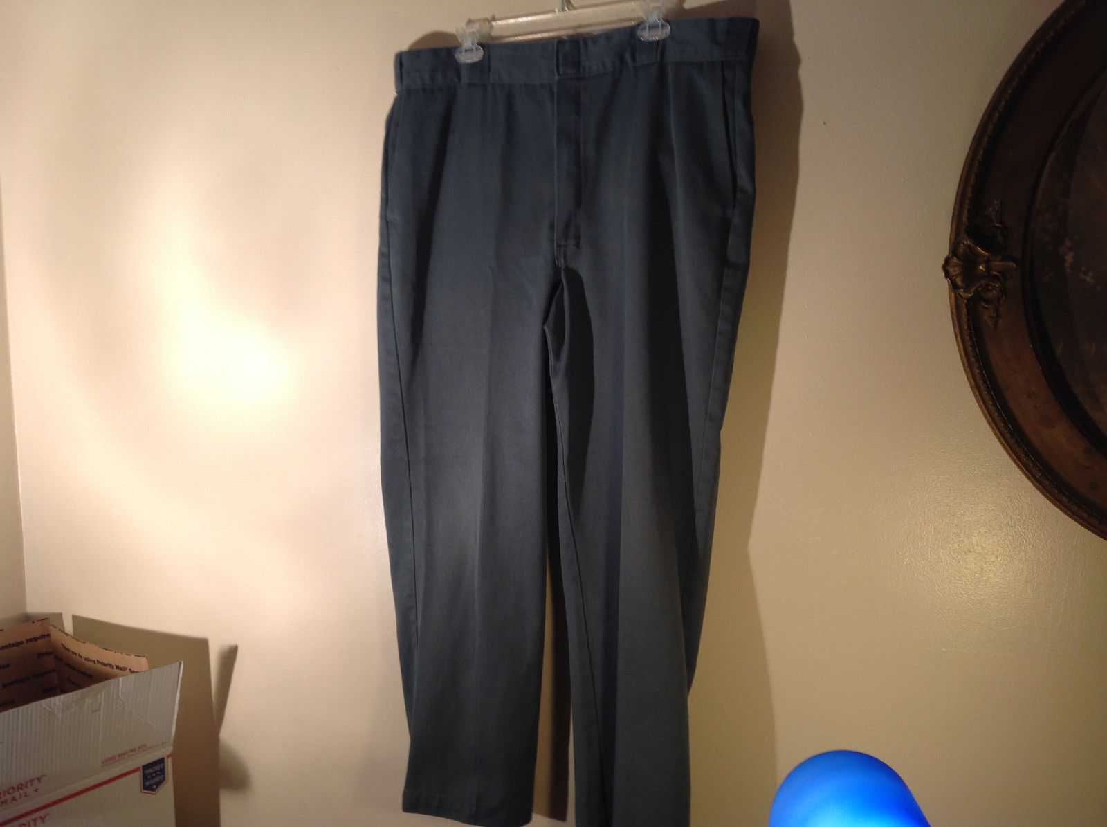 Blue Green Dickies Casual Pants Size 40 by 30 Good Condition Made in USA