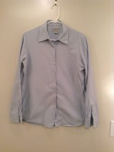 Blue Long Sleeve Button Up 100 Percent Cotton Brooks Brothers Shirt Size Medium image 1