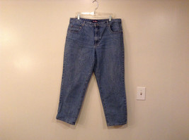 Blue Medium Wash Jeans by L A Blue Jeans Size 20W Short 100 Percent Cotton