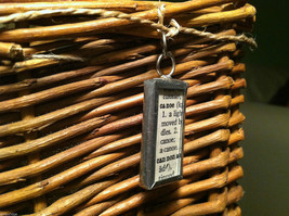 2 Sided Charm - picture of Canoe w/ Definition image 4
