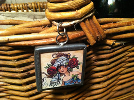 """2 Sided Charm - """"Drink Martinis and Seduce a Gardener"""" image 2"""