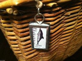 2 Sided Charm - picture of Dolphin w/ Definition image 2