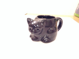Black Cat Candle Holder Four and a Half Inches Candle Opening Two Inches Tall image 2