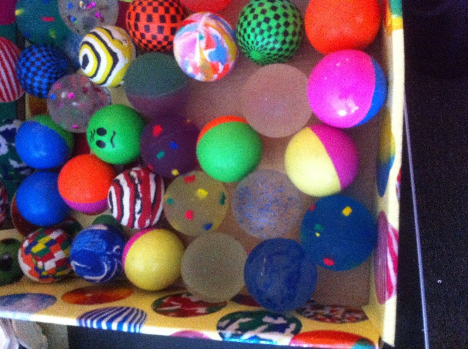 Bouncy ball super bouncing ball color choice great fun blast from the past