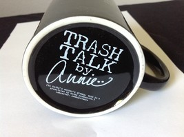 Black Coffee Mug Trash Talk by Annie After Monday and Tuesday Even the Calendar image 3