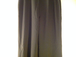 Black Dress Pants by Banana Republic Wide Bottoms Good Condition Size 4 image 4