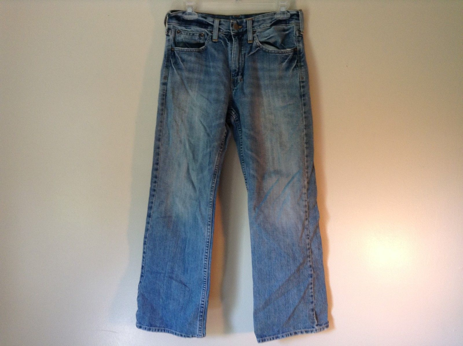 Boot Cut Style American Eagle Outfitters Blue Jeans No Size Tag See Measurements