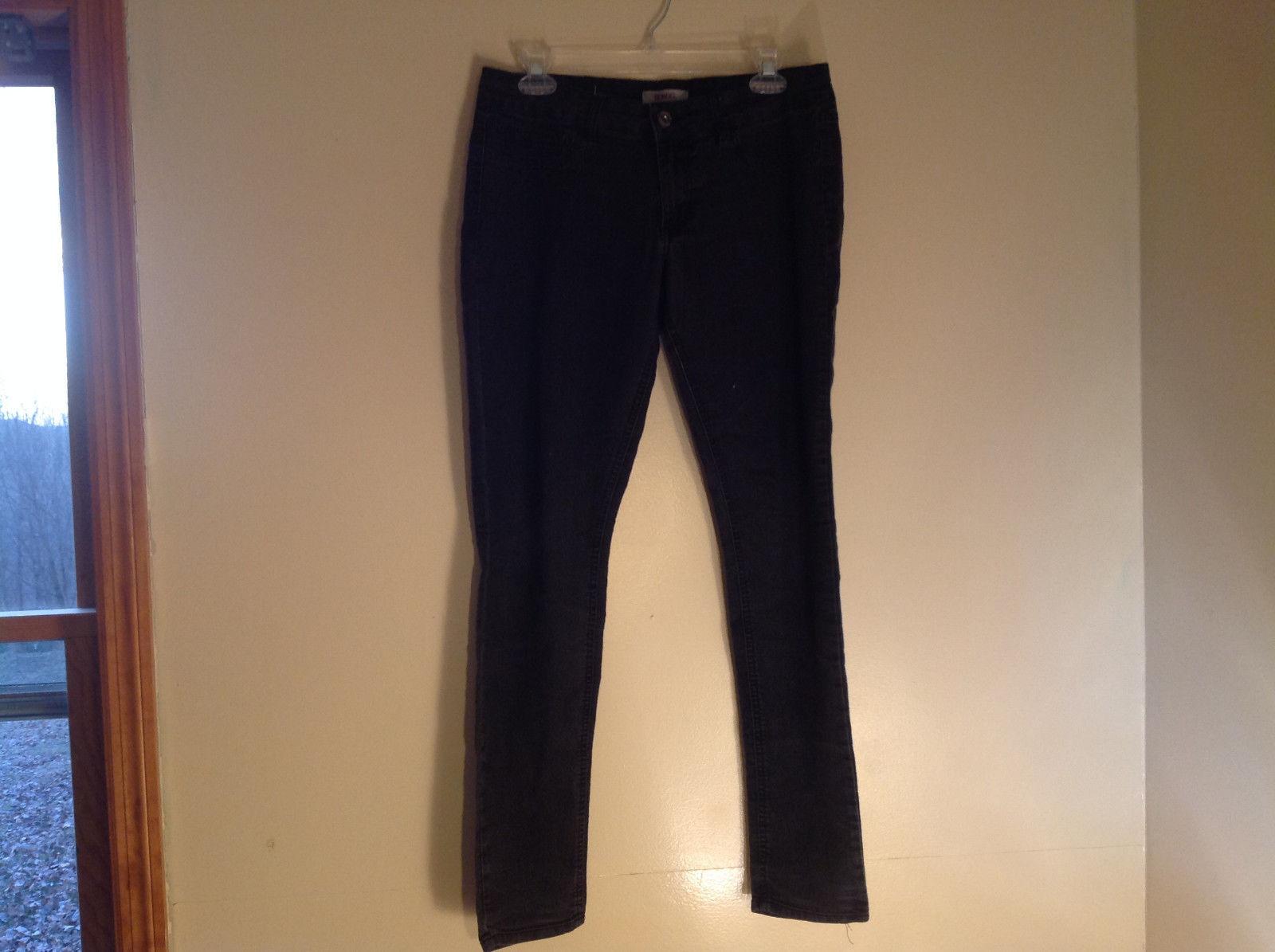 Bongo Black Skinny Leg Jeans Color Looks Worn Size 11