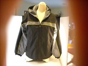 Boys Jacket size L 14 16 Nylon Fleece Pacific Trail