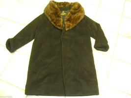 Brenner Bros Women's Coat with Fur Collar image 1