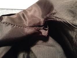 Black Giorgio Saint Angelo 100 Percent Wool Dress Pants Zipper Buttons Closure image 8