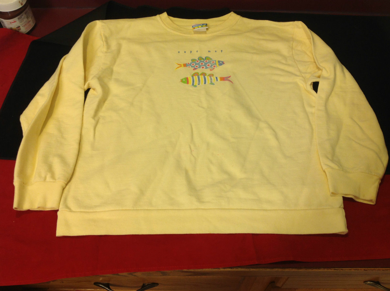 Breeze Up Kids Yellow Girls Graphic Sweatshirt Size XL
