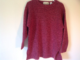 Brick Red Prides Landing Pullover Sweater Made in Hong Kong Size Small