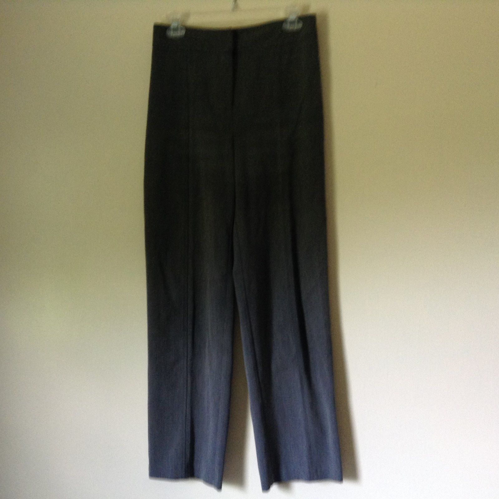 Briggs New York Gray Dress Pants Size 8 Elastic Waistband